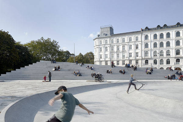 Israels Square by COBE in Copenhagen, Denmark. Photo credit: Sweco Architects