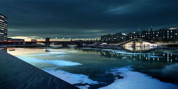 Vinterbad Brygge. Photo credit: BIG – Bjarke Ingels Group
