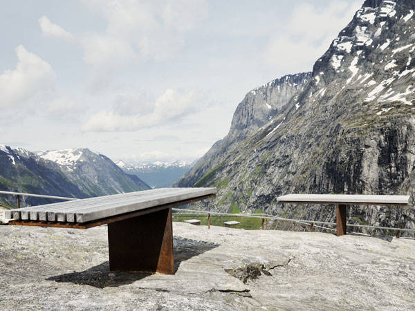 Trollstigen National Tourist Route by Reiulf Ramstad Architects. Photo Credit: RRA