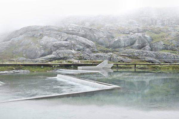 Trollstigen National Tourist Route by Reiulf Ramstad Architects. Photo Credit: Diephotodesigner.de