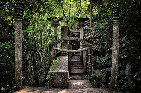 Xilitla Garden. Photo credit: Rod Waddington