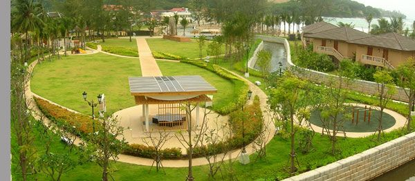 Kamala Beach, Phuket - Tsunami Memorial Park and Evacuation Route. Photo courtesy of Group Three Design Co., Ltd.