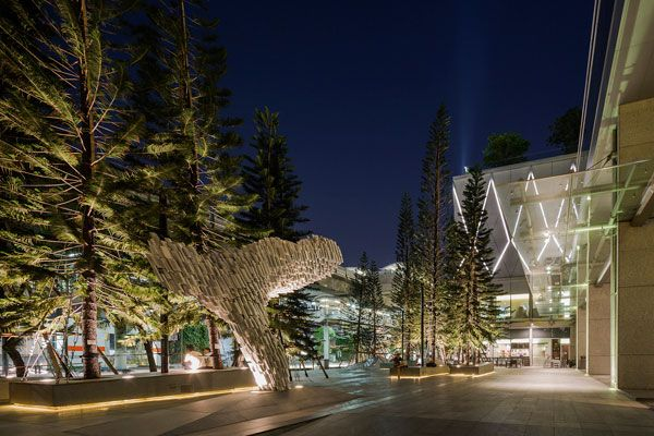 Park Ventures Ecoplex. Photo courtesy of P Landscape Co., Ltd.