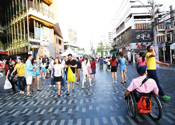 Siam Square One. Photo courtesy of Landprocess Co., Ltd.