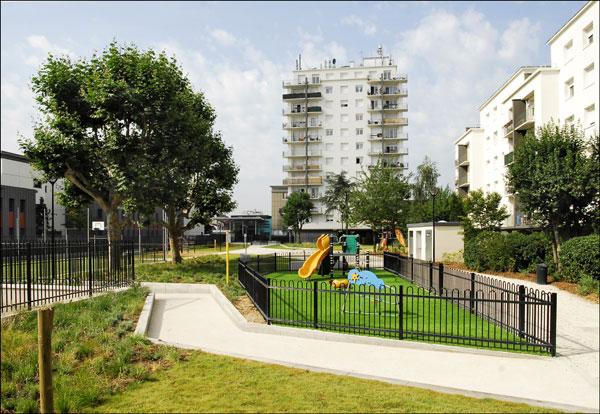 Photo credit: Asnières Residential Park by Espace Libre Paysage et urbanisme