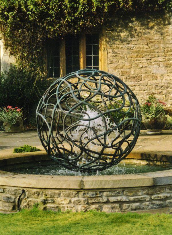 Coral water sculpture 2002 original. Photo credit: Giles Rayner