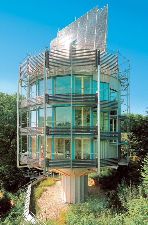 The Heliotrope Is An Environmentally Friendly House Designed By German Architect Rolf Disch Photo