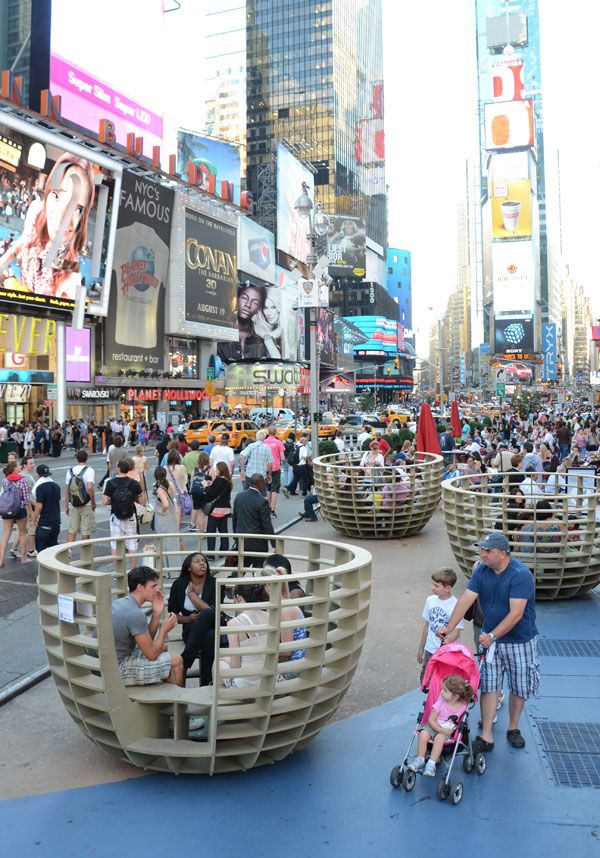 """meeting Bowls"" At Times Square. Photo credit: mmmm..."