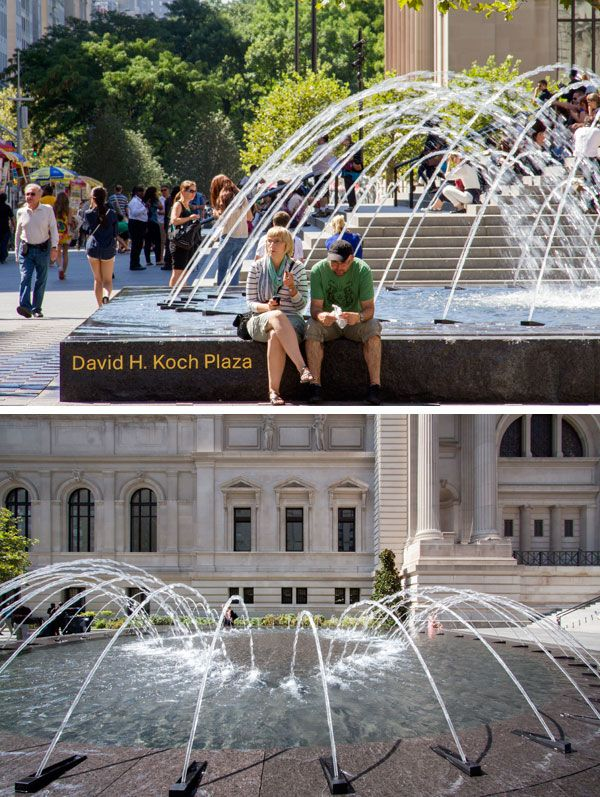 David H. Koch Plaza at the Metropolitan Museum of Art