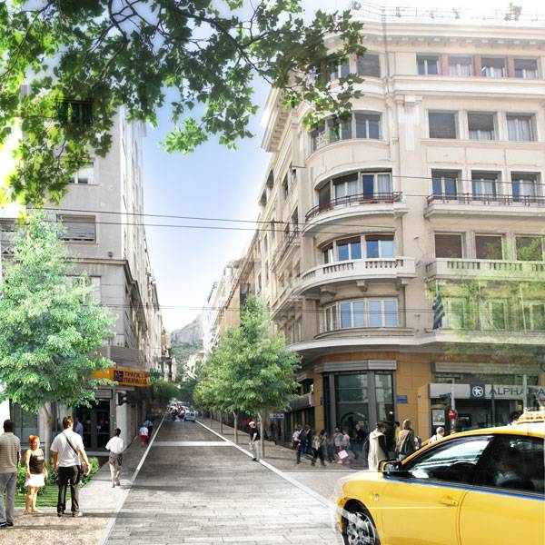 Re-think Athens Design Competition: Vision in a Time of Recession, by OKRA