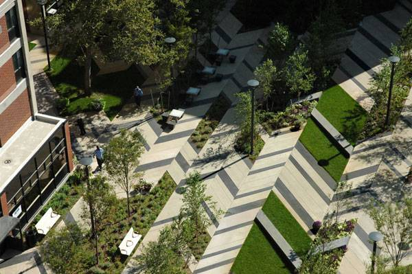Levinson Plaza by Mikyoung Kim Design.