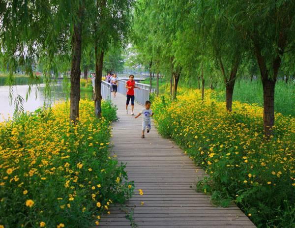 Qian'an Sanlihe Greenway.