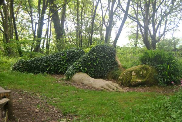 """SLEEPING GODDESS AT THE LOST GARDENS OF HELIGAN."" by Loco Steve at Flickr. Licensed under CC BY-SA 2.0 via Commons."