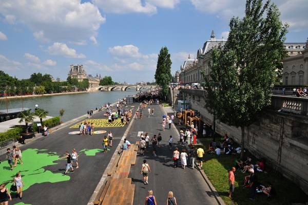 Berges de Seine, Paris, France, by Franklin Azzi Architecture. © FRANKLIN AZZI ARCHITECTURE