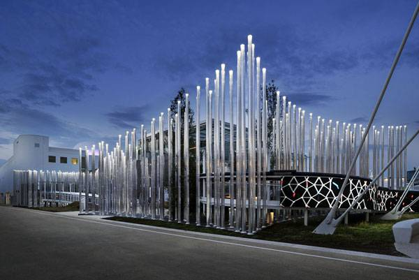 ENEL Pavilion, by Piuarch. Image credit:  Andrea Martiradonna