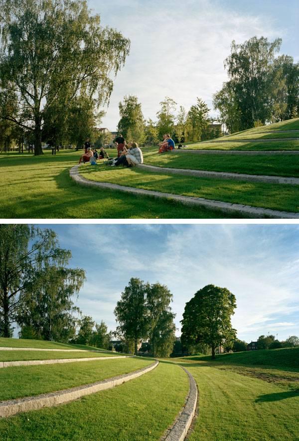 Sandgrund Park. Photos courtesy of Thorbjörn Andersson