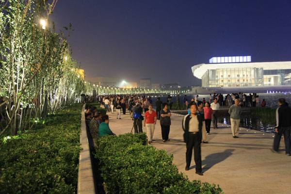 Tianjin Cultural Park. Photo credit: Dreiseitl