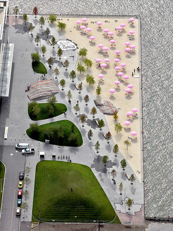 Sugar Beach; credit: www.claudecormier.com