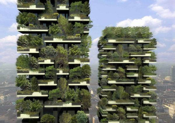 """Stefano Boeri - 米蘭垂直森林 Bosco Verticale - rendering 01.jpg"" by 準建築人手札網站 Forgemind ArchiMedia. Licensed under CC BY-SA 2.0 via Flickr"