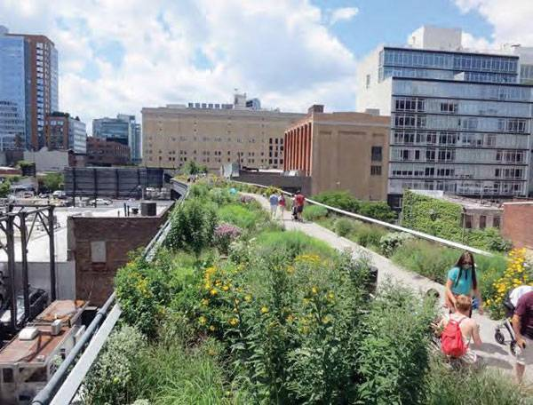 The High Line New York © Urban Land Institute (Flickr). Image via 15 Year Infrastructure plan for Australia PDF