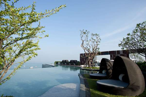 The Garden of Hilton Pattaya by T.R.O.P. Terrains + Open Space, in Chonburi, Thailand.