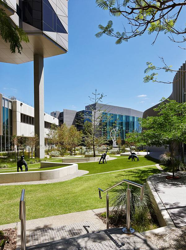 Fiona Stanley Hospital. Photo credit: Peter Bennetts