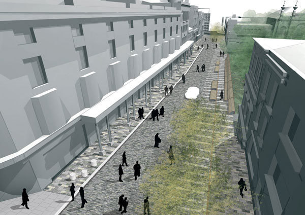 New Road, Brighton, design by Gehl Architects
