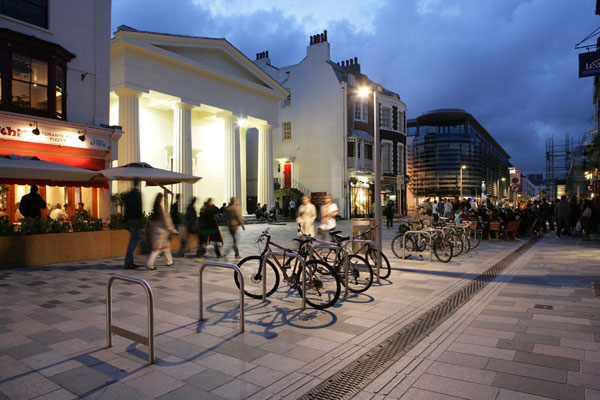 New Road, Brighton, design by Gehl Architects.