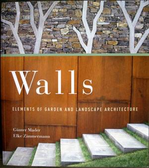 Front cover of Walls: Elements of Garden and Landscape Architecture