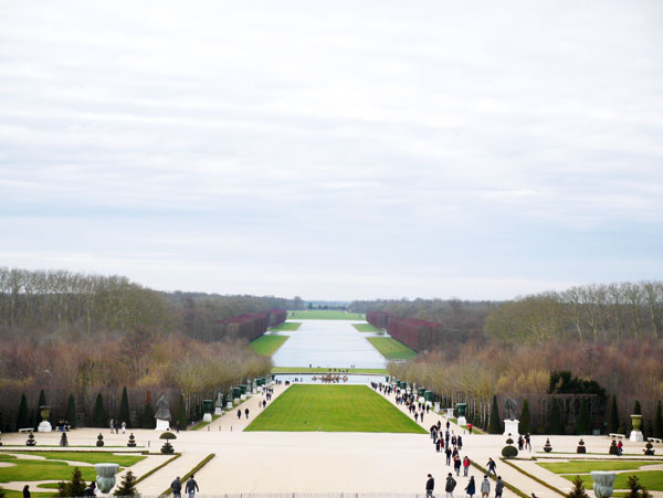 Garden of Versailles, France.