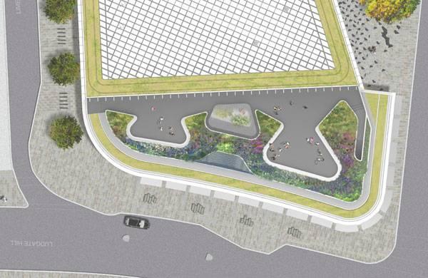 Masterplan of New Ludgate. Image credit: Fletcher Priest