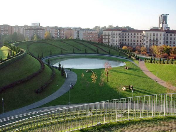 Parco Portello Images courtesy of LAND Milano srl.