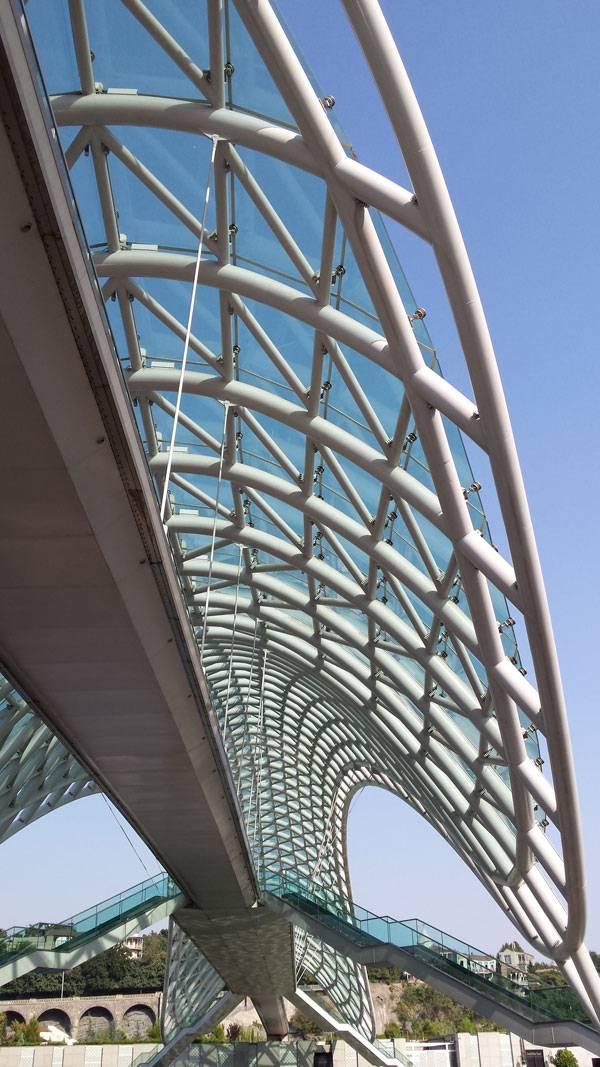 The Peace Bridge. Photo credit: Paula Uzarek