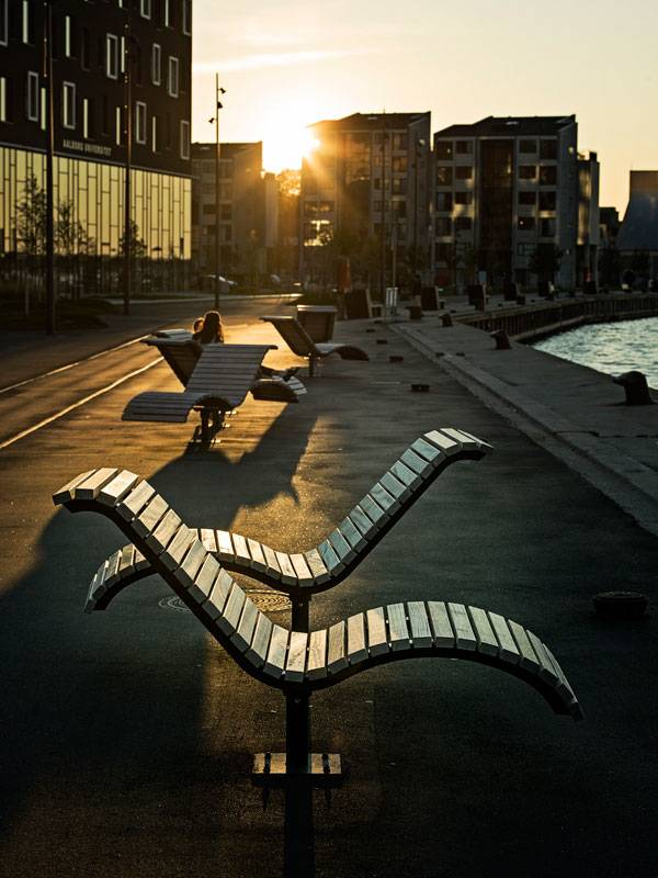 Aalborg Waterfront phase II. Photo credit: Joergen True