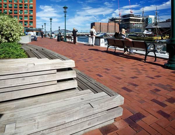 Atlantic Wharf Park. Photo credit: Ed Wonsek