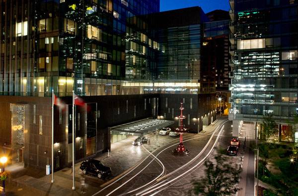 The Four Seasons Hotel and Residences Landscape Design. Photo courtesy of Claude Cormier + Associés