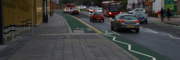 Cyclists need to get out of the way of cars and bother pedestrians in London, Photo Credit: Rob Koningen