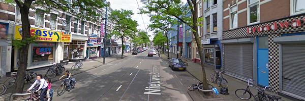 Nieuwe Binnenweg, Rotterdam before refurbishment, Photo Credit: Google
