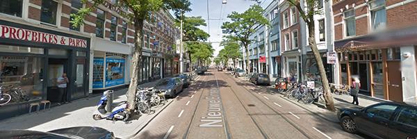 Nieuwe Binnenweg after refurbishment, Photo Credit: Google