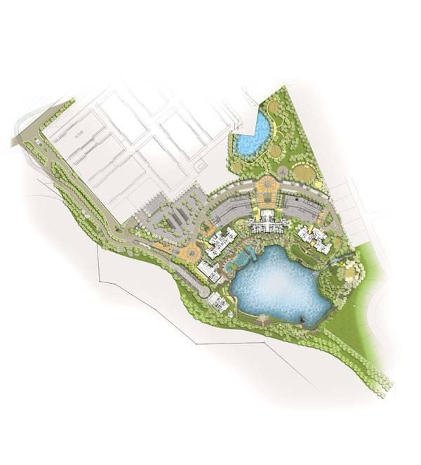 The Haven Landscap Masterplan. Image courtesy of Malik Lip & Associates Sdn Bhd
