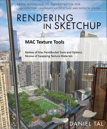 Recommended Reading: Rendering in SketchUp: From Modeling to Presentation for Architecture, Landscape Architecture and Interior Design. Get it HERE!