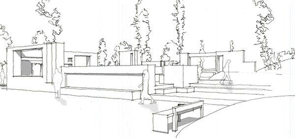 SketchUp models. Image credit: Kevin Pfeiffer