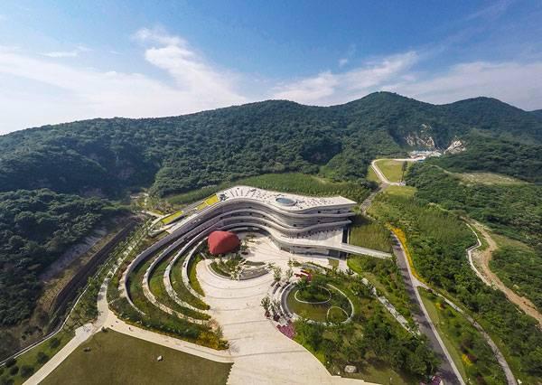 Fangshan Tangshan National Geopark Museum.Photo credit:  Johnson Lin