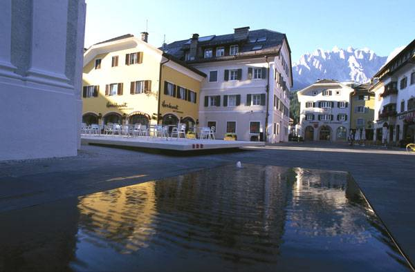 The development of the village centre in Innichen, Italy. Photo courtesy of Alles Wird Gut