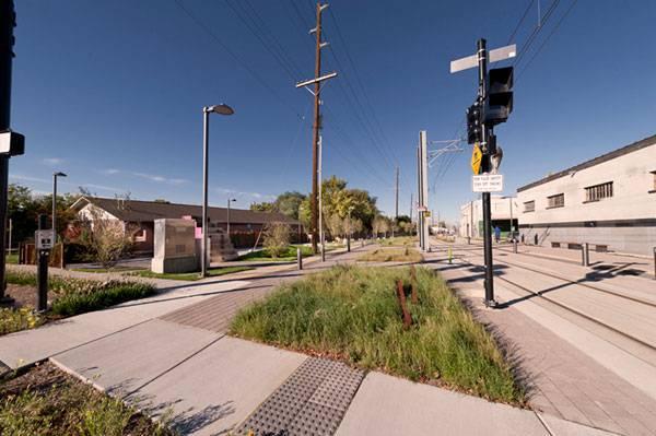 Sugar House S-Line Streetcar and Greenway. Photo credit: Robert Holman