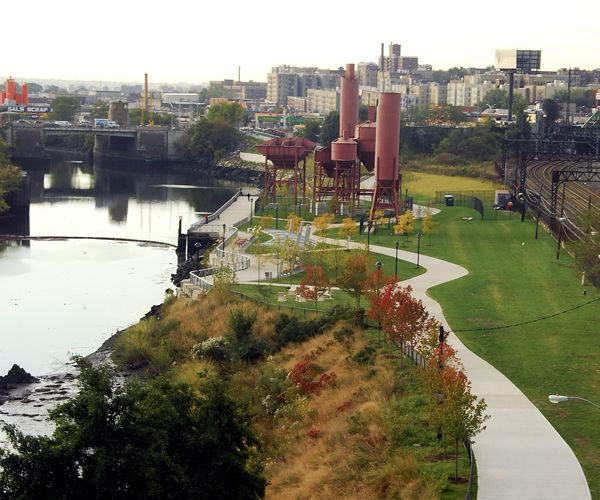 Concrete Plant Park; credit: Malcolm Pinckney-NYC Parks