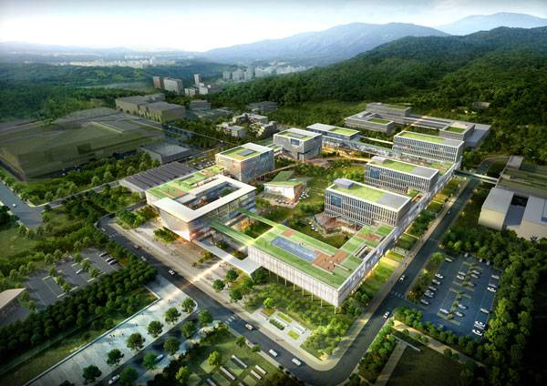 IBS Headquarters Phase 1. Image credit: Samoo Architects and Engineers