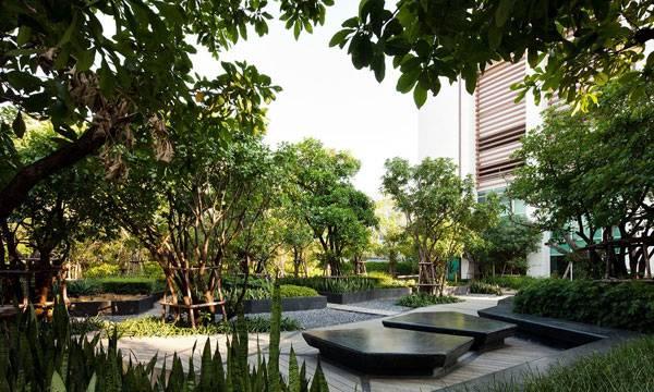 Ladprao Condominium Garden, Shma Co Ltd, Bangkok, Thailand_photo courtesy Shma Design
