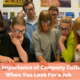 The Importance of Company Culture When You Look For a Job