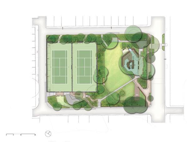 Masterplan of St. James Park. Photo credit: ASPECT Studios